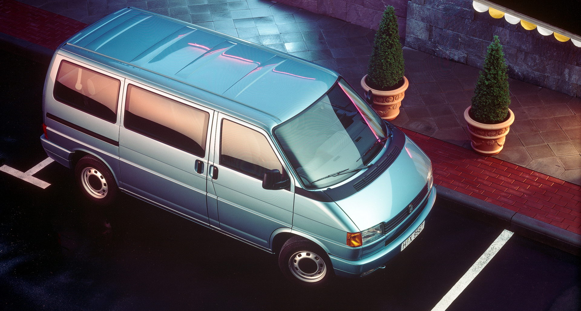 The new T4 Caravelle from 1990.