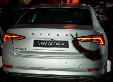 Škoda объявляет старт продаж новой Octavia и дни открытых дверей в дилерских центрах