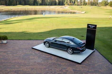 Genesis провел закрытый показ нового бизнес-седана G80 в рамках гольф-турнира «Тур десяти»