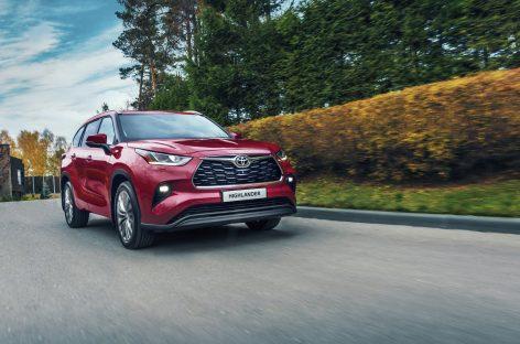 Всемирный успех и стремительный взлет в России: стартуют продажи абсолютно нового Toyota Highlander