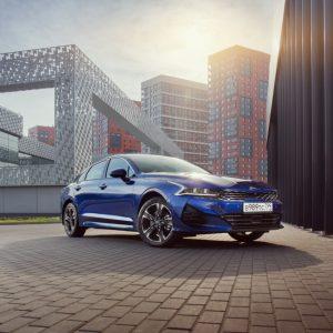В России стартовали продажи нового седана бизнес-класса Kia К5