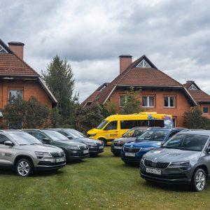 Škoda обновляет автомобильный парк благотворительной организации «Детские деревни - SOS»