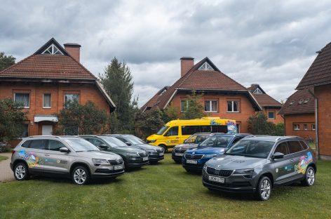 Škoda обновляет автомобильный парк благотворительной организации «Детские деревни – SOS»