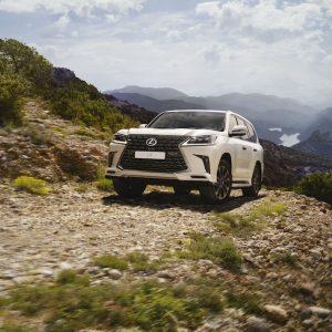 Новая специальная серия флагмана Lexus LX Heritage V8 доступна для заказа
