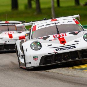 Porsche с воодушевлением готовится к гонке на трассе Road Atlanta