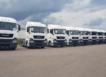 30 новых тягачей MAN TGX были переданы Вайлдберриз для перевозки грузов на дальние расстояния