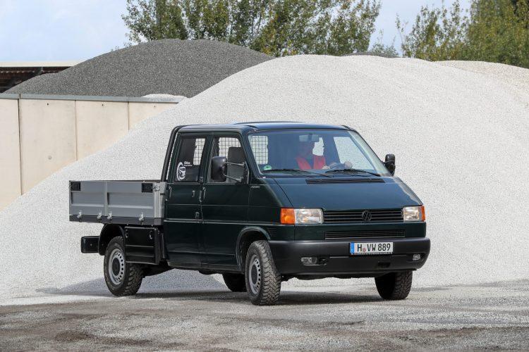 The T4 as double cab pick-up. T4 как пикап с двойной кабиной.