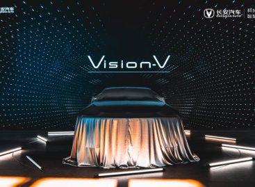 Changan представил новый концепт-кар Vision-V на Международном автосалоне в Пекине