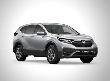 Honda представила обновленный CR-V для российского рынка