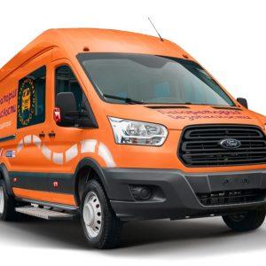 Лаборатория безопасности Ford Transit возобновляет обучение детей
