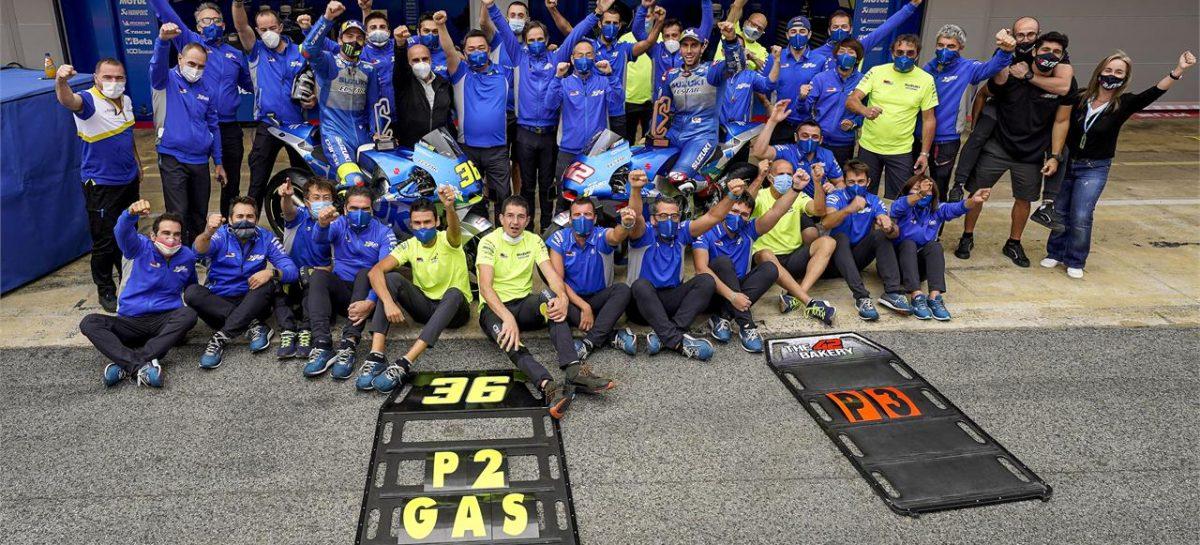 Два гонщика Suzuki стали призерами этапа MotoGP в Каталонии