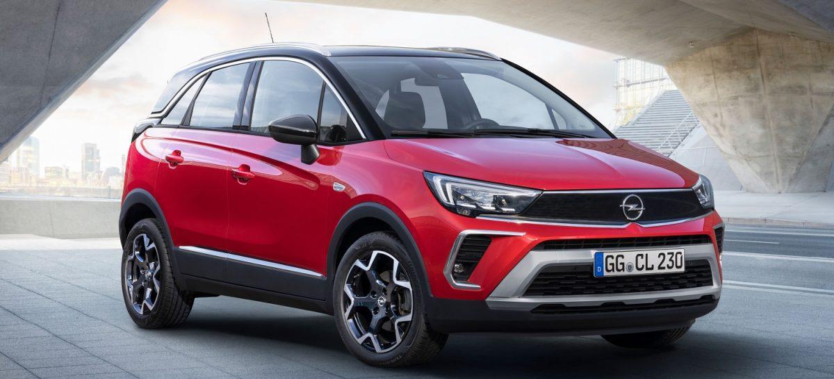 Новый Opel Crossland: изменился не только внешне