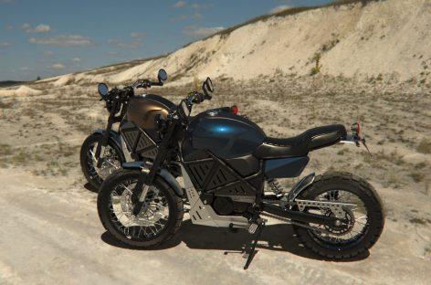 Украинская мотоциклетная компания GEON разработала электрический мотоцикл