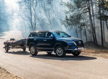 Начались продажи нового Toyota Fortuner с дизельным двигателем