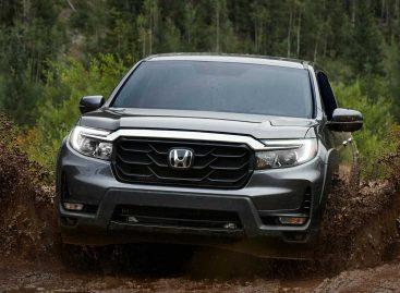 Honda провела рестайлинг своего единственного пикапа