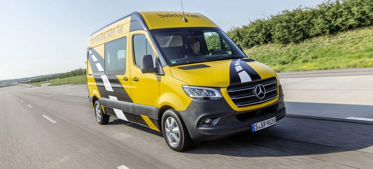 Пионер безопасности в течение четверти века: Mercedes-Benz Sprinter