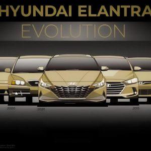 Эволюция Hyundai Elantra за 30 лет
