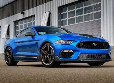 Новый Mustang Mach 1 станет доступен на глобальном рынке