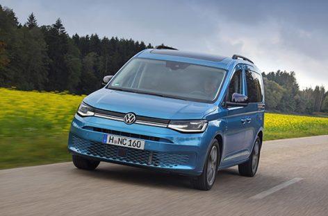 Volkswagen Коммерческие автомобили представляет новый Caddy