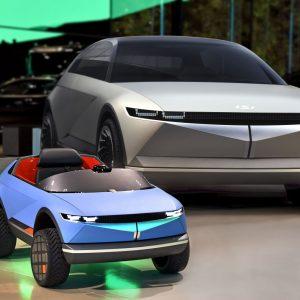 Hyundai представляет свой самый маленький электромобиль