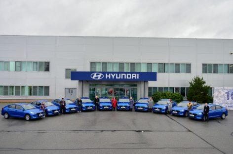 Hyundai подводит итоги конкурсов в рамках празднования 10-летия российского завода и модели Solaris