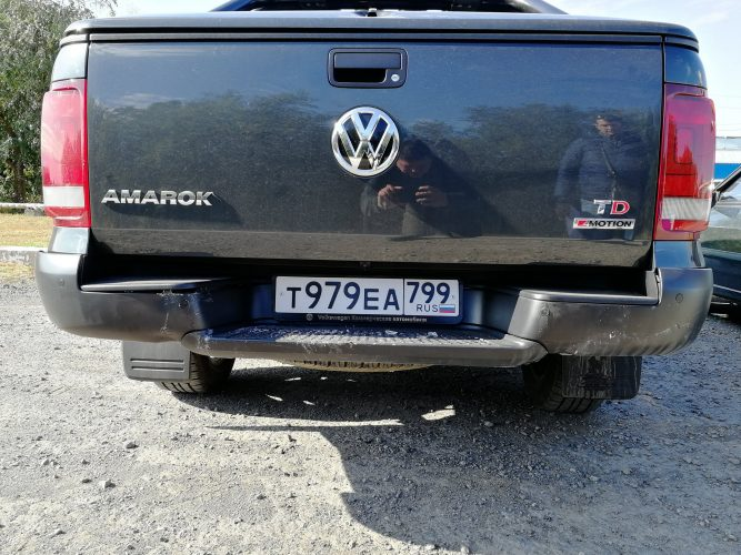 ДТП Volkswagen Amarok Dark Label 2019