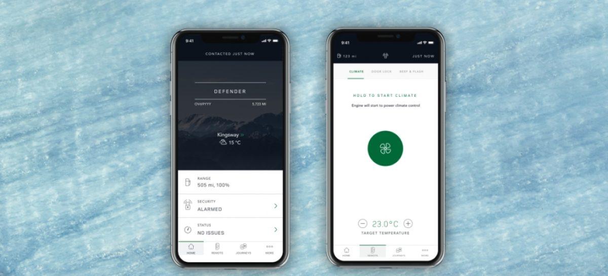 Jaguar Land Rover представляет обновленное приложение InControl Remote