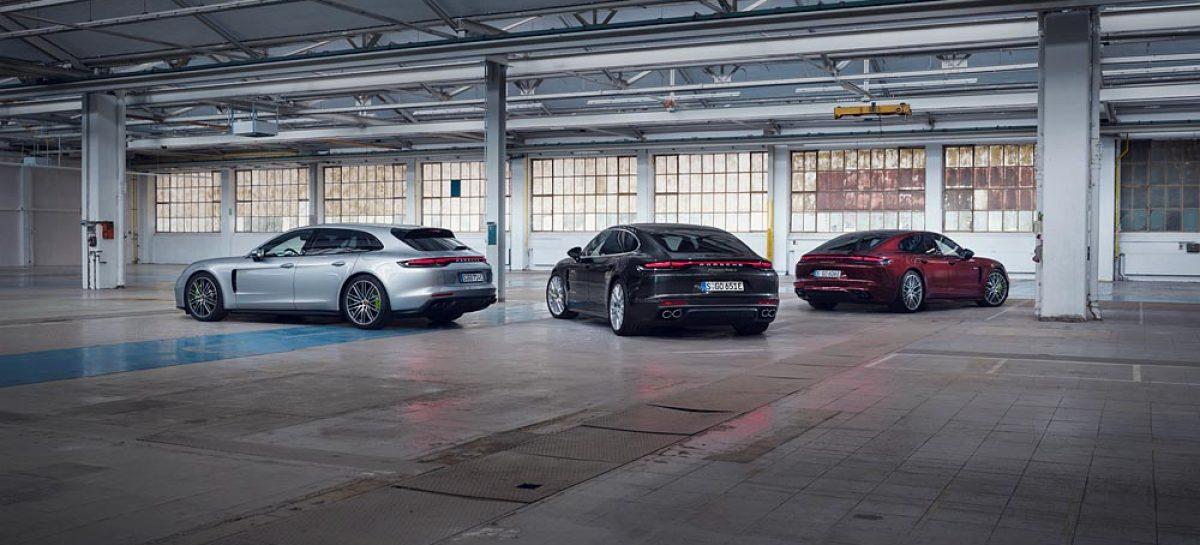 Porsche: новые модели Panamera мощностью до 700 л.с.