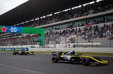 Renault DP World F1 Team на Гран-при Португалии