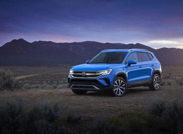 Volkswagen представила компактный кроссовер Taos в США