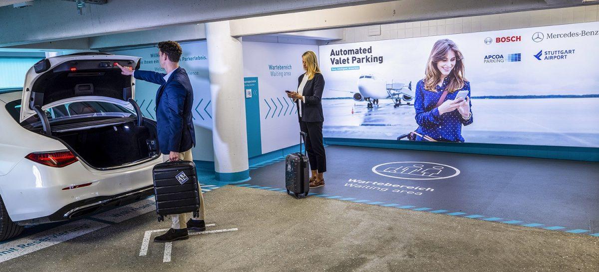 В аэропорту Штутгарта откроется полностью автоматизированная парковка