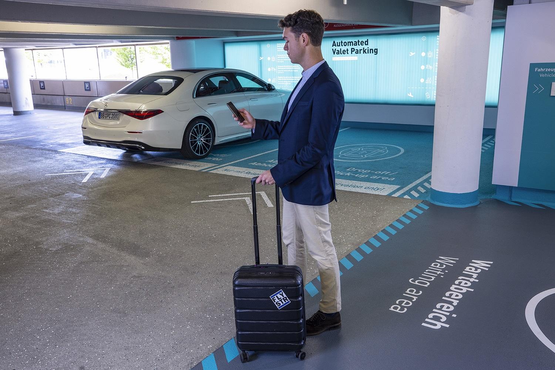 Bosch, Apcoa и Mercedes-Benz