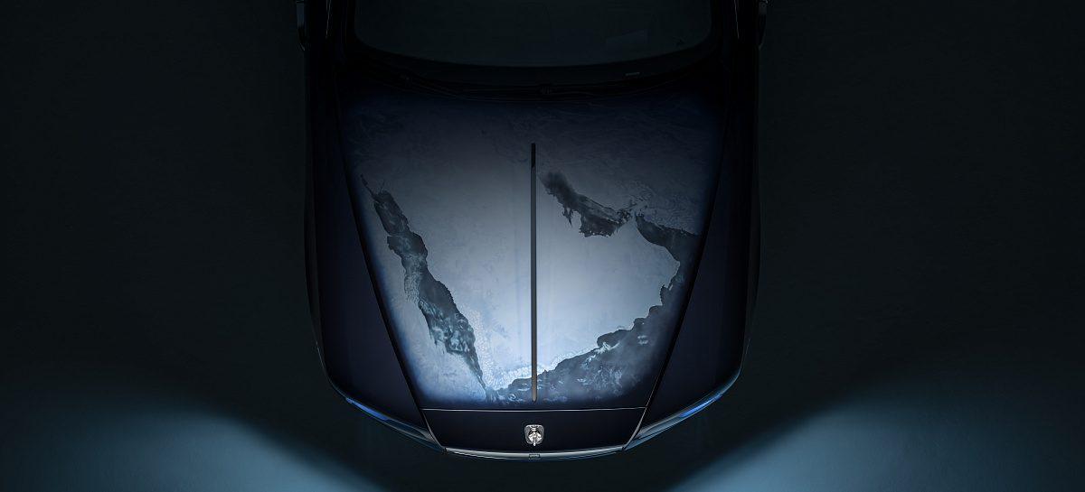 Rolls-Royce Bespoke представляет «Wraith – Ispered by Earth»: Взгляд на Землю из космоса
