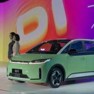 В Китае создали электромобиль для такси и каршеринга
