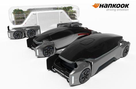 Hankook представляет футуристическое видение шин и мобильности в своем проекте «Design Innovation 2020»