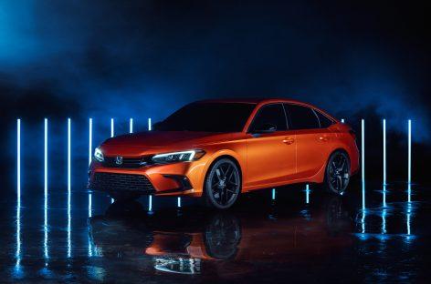 Honda представила прототип Civic 2022 модельного года