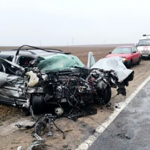 Два человека погибли в лобовом столкновении Audi и Volkswagen на Р-99 под Гродно