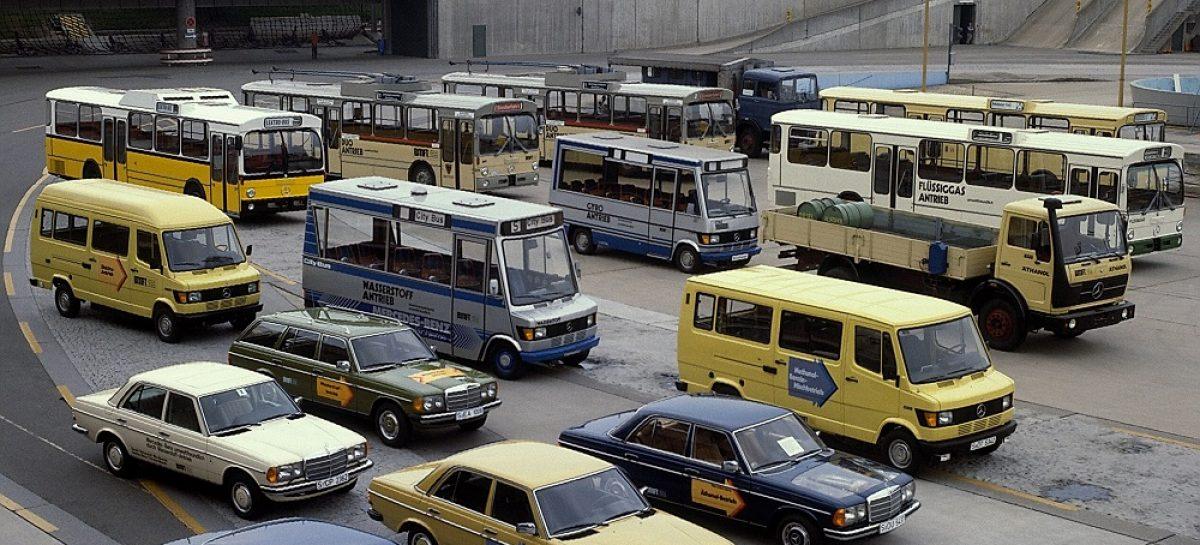 40 лет назад состоялась премьера экспериментального электрического малотоннажного автомобиля Mercedes-Benz 307 E