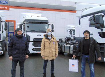 30 автомобилей Ford Trucks 1848T уехали в Воронеж