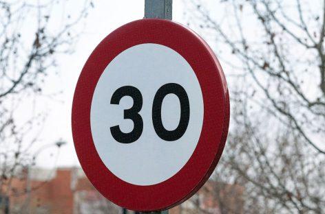 В Испании ограничат скорость до 30 км/ч на дорогах с одной полосой движения в каждом направлении