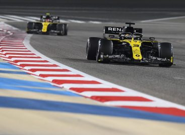 Renault DP World F1 Team на Гран-при Бахрейна