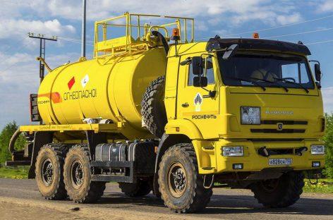 Роснефть поддержит КАМАЗ крупнейшим заказом