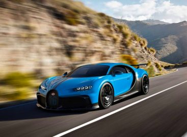 Реальный расход топлива Bugatti Chiron Pur Sport