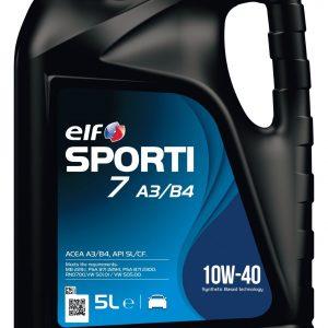 Elf SPORTI: опыт автоспорта для двигателей с опытом