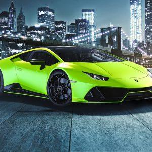 Lamborghini представляет новый дизайн Huracan EVO Fluo Capsule