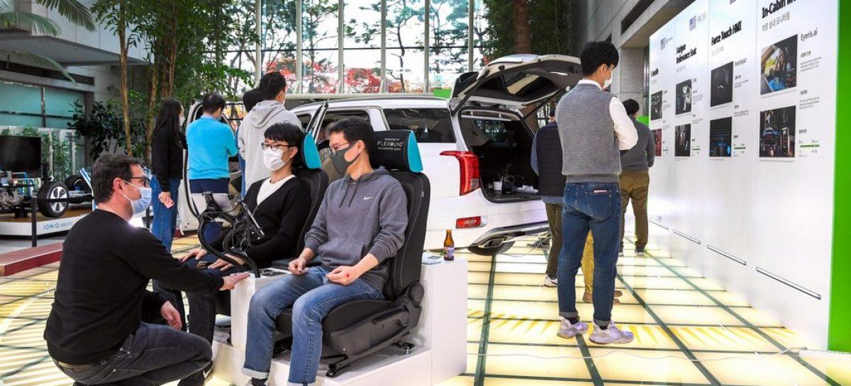 Hyundai провела выставку инновационных стартап-технологий Open Innovation Lounge 2020
