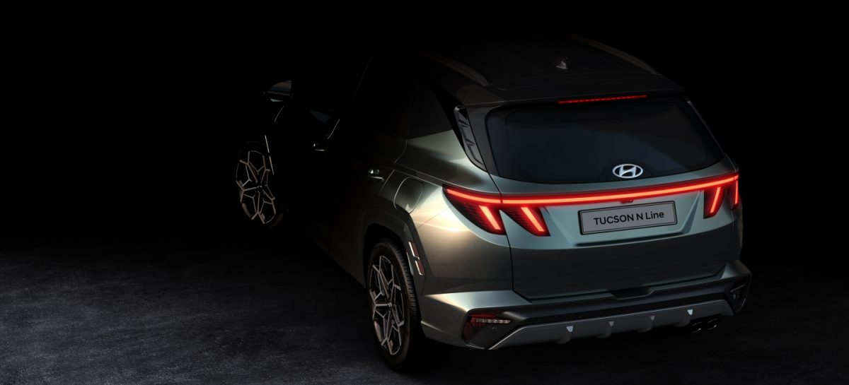 Hyundai показала первые изображения Tucson N Line