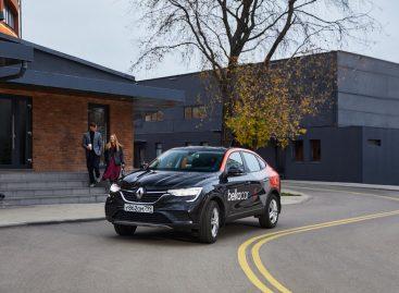 Renault Arkana в каршеринговой сети BelkaCar
