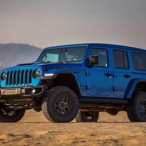 Презентация нового Jeep Wrangler Rubicon 392