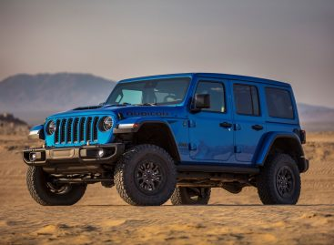 Презентация нового Jeep Wrangler Rubicon 392